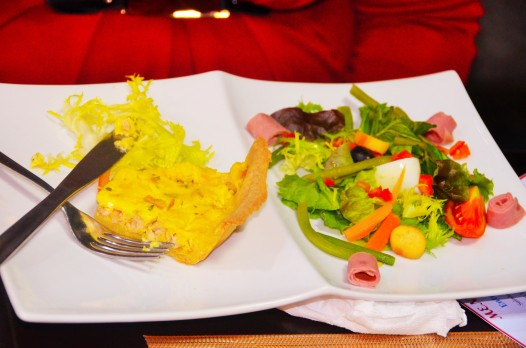 Salade paysanne et Quiche Grill House